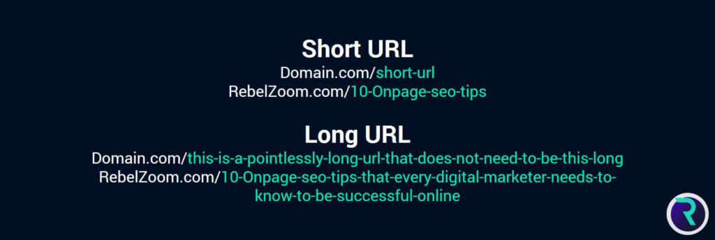 Top 10 On Page SEO Techniques Crucial in 2019 url length 1024x344